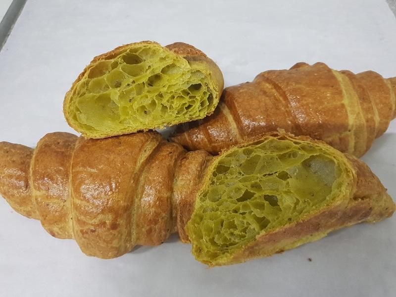 Croissants con Moringa y Semillas