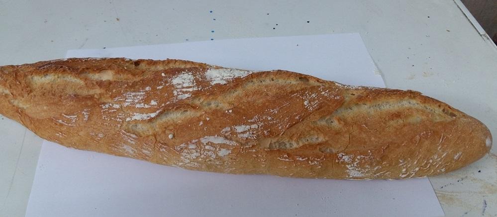 Pan con agua de Mar