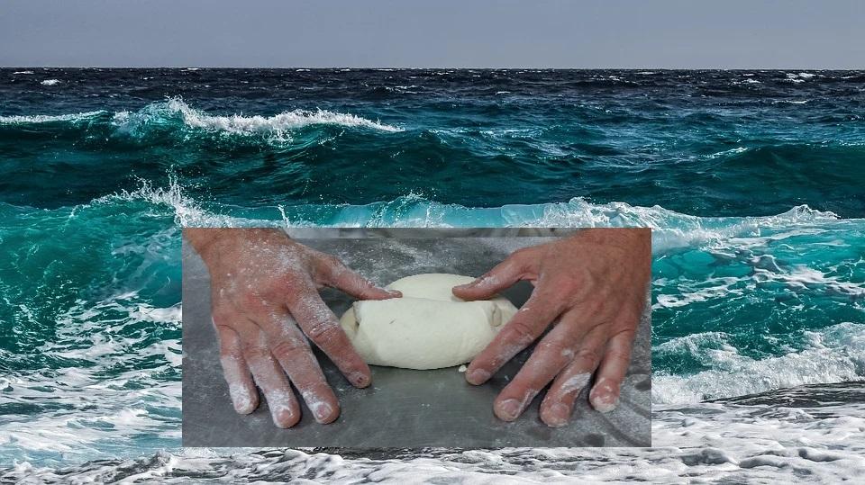Pan hecho con Agua de Mar